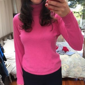 Long sleeve cashmere  turtleneck